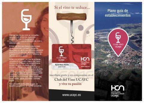 El Club del Vino UCAYC edita un plano turístico que se promocionará en los alojamientos de la comarca
