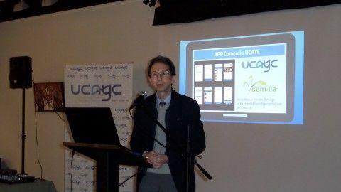 UCAYC presenta su aplicación móvil para el comercio de la comarca