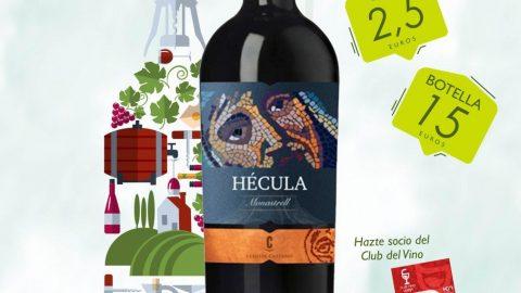 Degusta este vino en los establecimientos del Club
