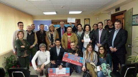Entrega de premios del concurso Chigres Antroxaos