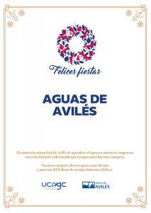 Comercio Avilés Tarjetas Regalo Navidad Aguas de Avilés